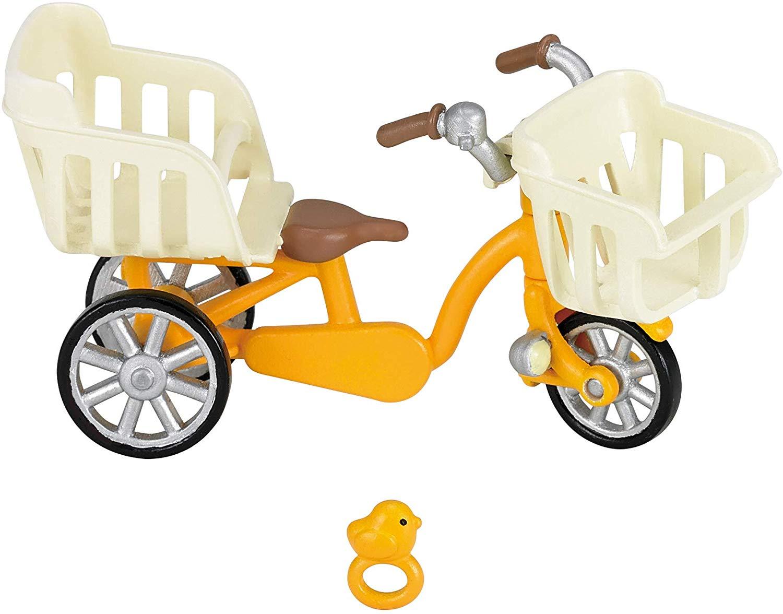 森林家族 - 三人自行車