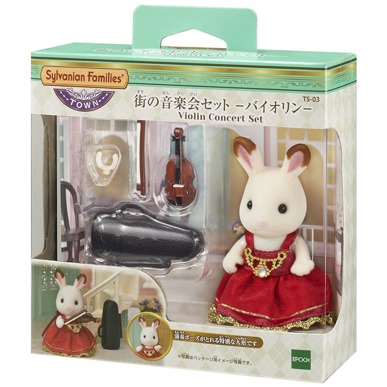 森林家族 森林城鎮 - TOWN小提琴演奏可可兔