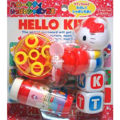 Hello Kitty - 字母吹泡泡