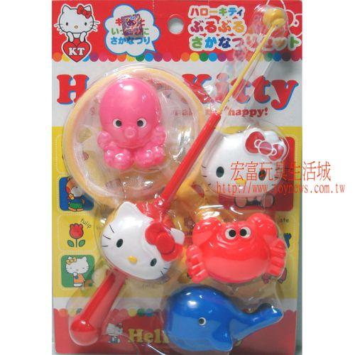 Hello Kitty - 釣魚組
