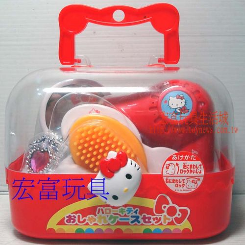 Hello Kitty - 造型手提箱組