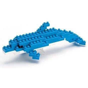 日本 nanoblock 河田積木NBC-003 海豚
