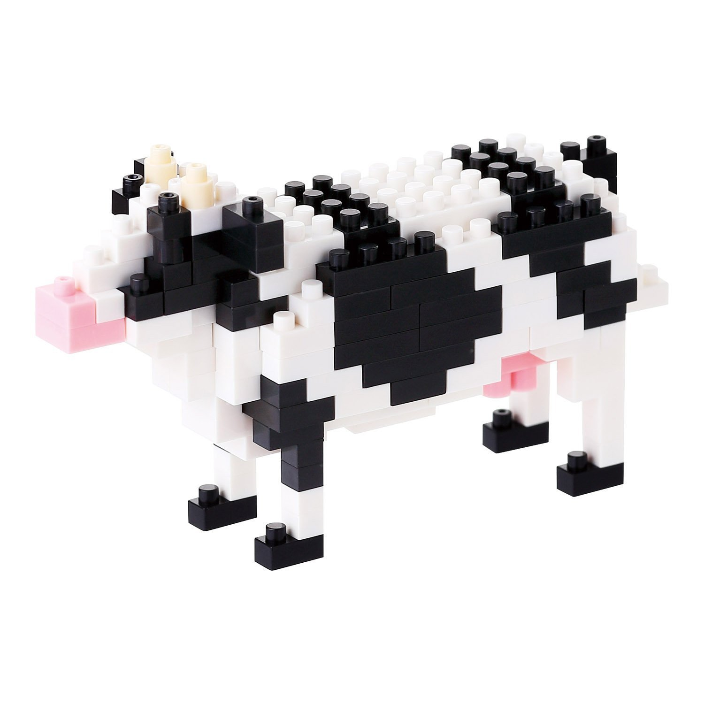 日本 nanoblock 河田積木 NBC-141 乳牛