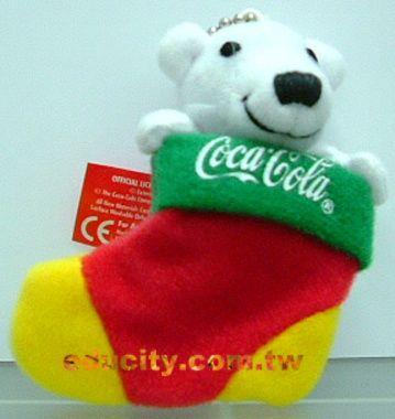 可樂熊~~聖誕襪版~