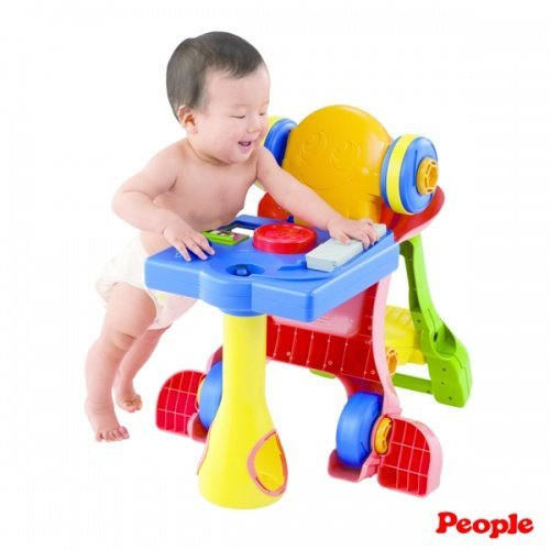 日本People 幼兒益智玩具 5合1變身學步車