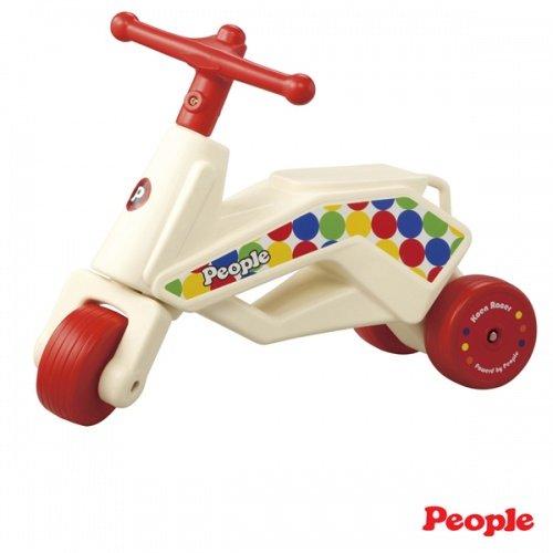 日本People 幼兒益智玩具 公園競賽滑步車Neo(紅)