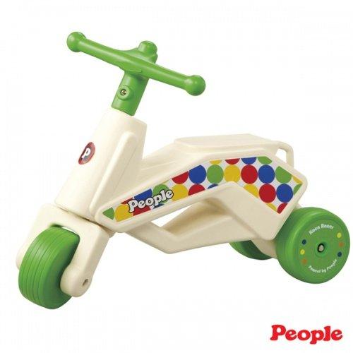 日本People 幼兒益智玩具 公園競賽滑步車Neo(綠)