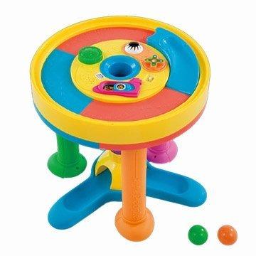 日本People 幼兒益智玩具 多功能趣味學步圓桌