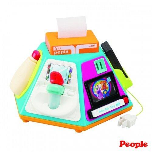 日本People 幼兒益智玩具 新超級多功能七面遊戲機
