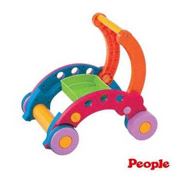 日本People 幼兒益智玩具 新折疊式簡易學步車