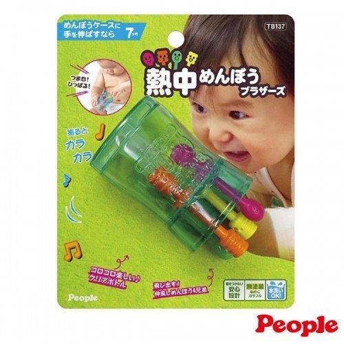 日本People 幼兒益智玩具 趣味棉花棒盒玩具
