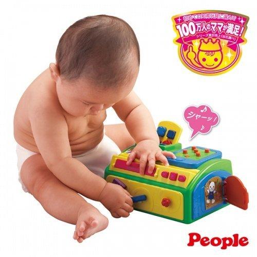 日本People 幼兒益智玩具 聲效手指趣味遊戲機