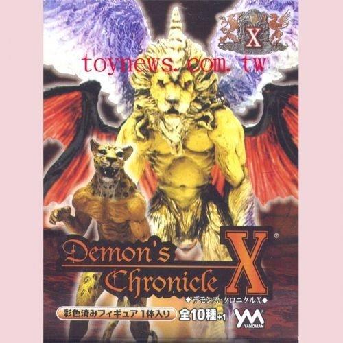 惡魔紀事X 第10代 基本原色版全10種