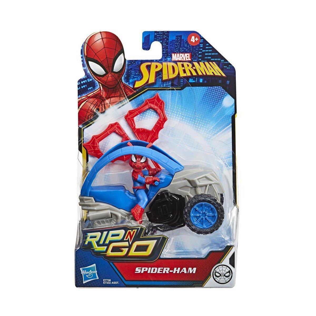 漫威 蜘蛛人 英雄載具發射組(E7332)