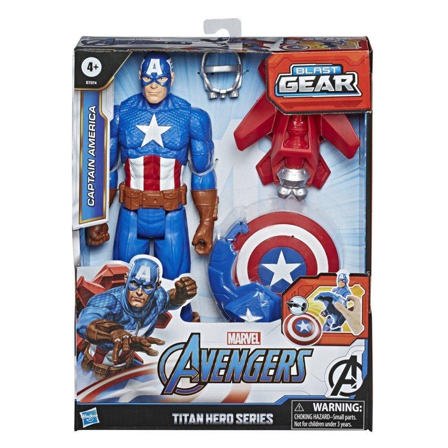 漫威復仇者聯盟爆裂發射泰坦英雄 美國隊長