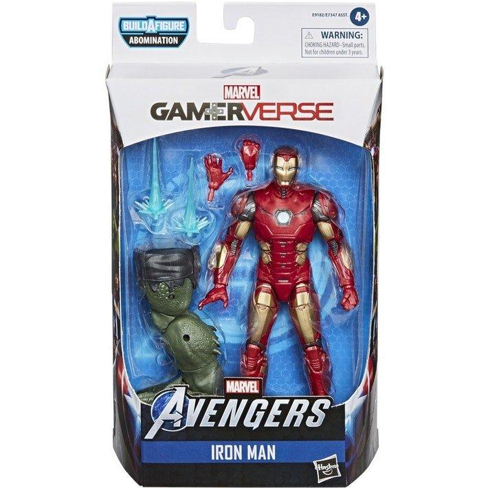 漫威復仇者聯盟 電玩 6吋傳奇人物 #2 鋼鐵人