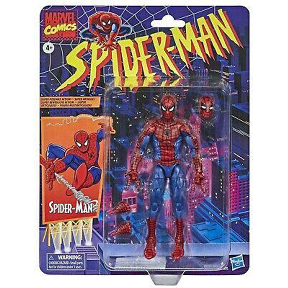 漫威 蜘蛛人傳奇經典 6吋人物 SPIDER MAN (HE9317)