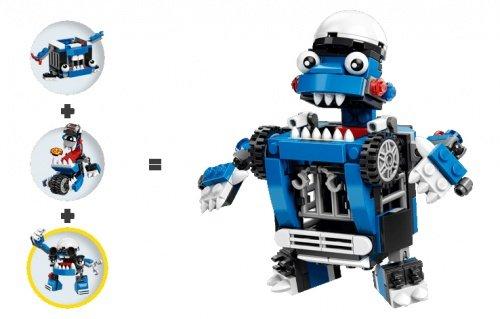 LEGO 樂高積木 Mixels系列 41554 + 41555 + 41556 三款合購