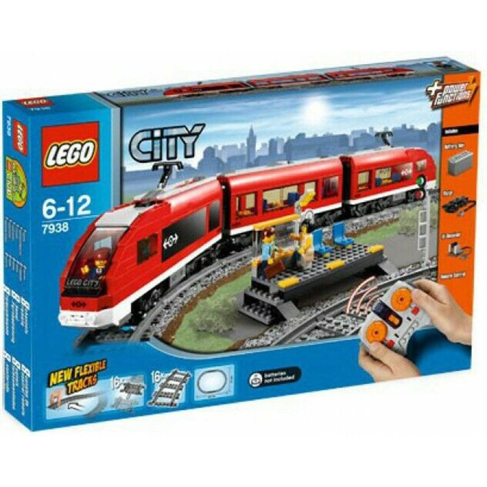 樂高積木LEGO 7938 子彈列車