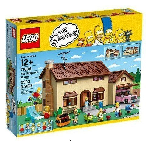 樂高積木LEGO LT71006 辛普森家庭 The Simpsons House