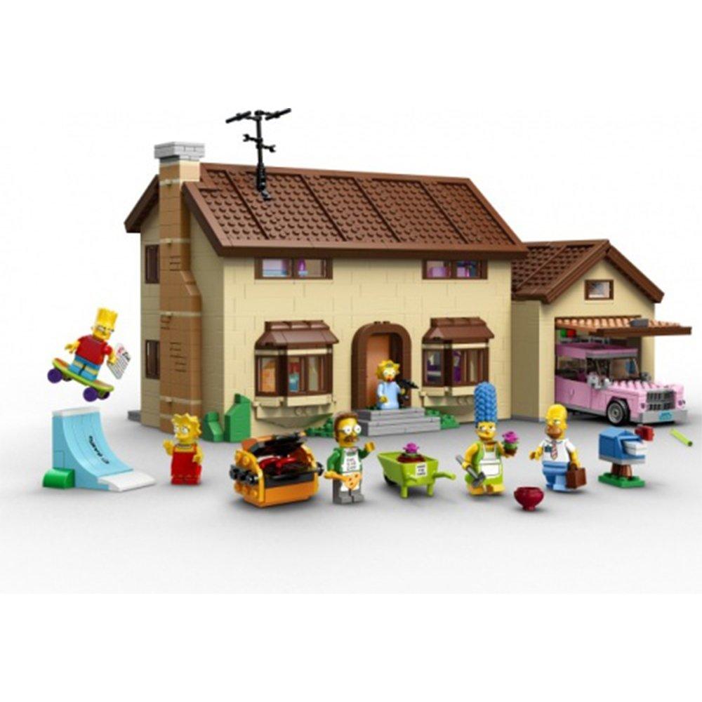 樂高積木LEGO LT71006 辛普森家庭 The Simpsons House