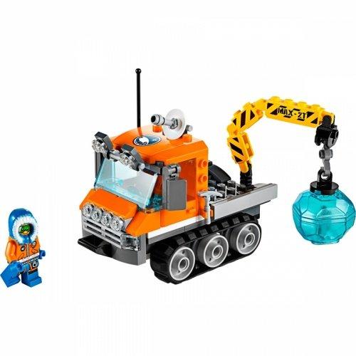 樂高積木LEGO City Police 系列 60033 北極冰雪履帶機