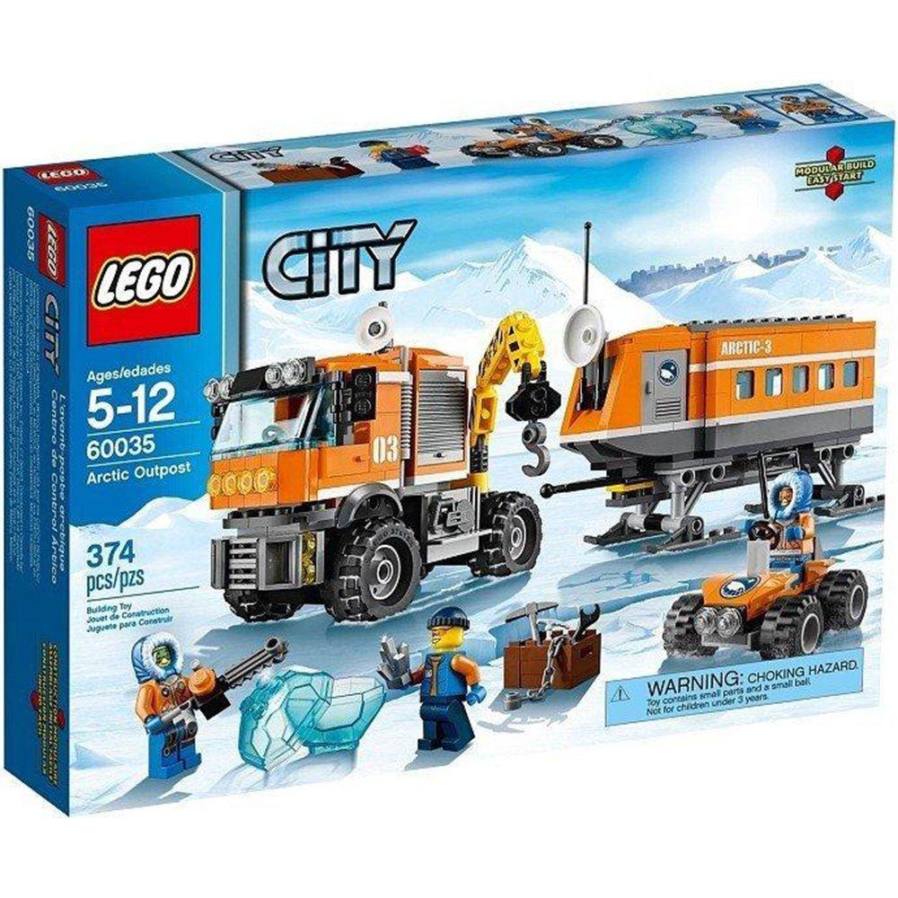 LEGO 樂高積木 LT60035 北極前哨