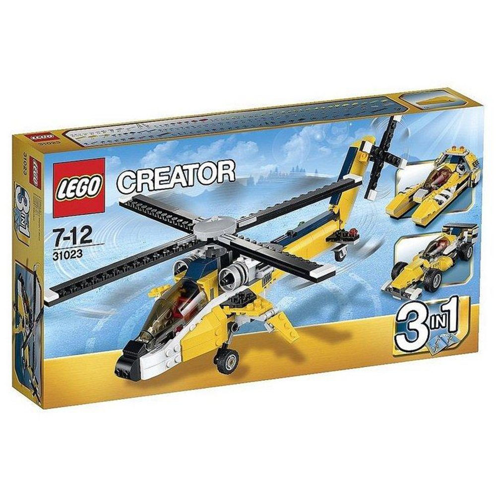 LEGO 樂高積木 31023 黃色賽車