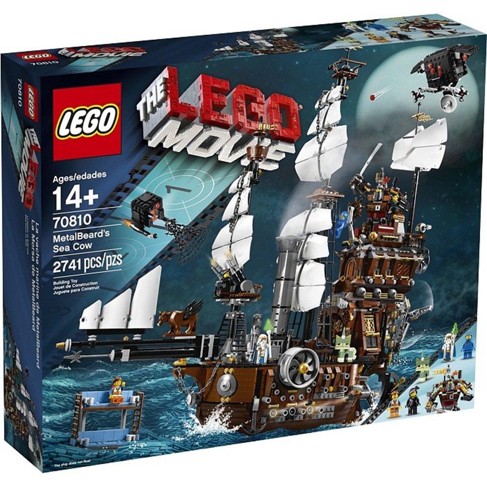 樂高積木LEGO Movie系列 70810 MetalBeards Sea Cow海牛號