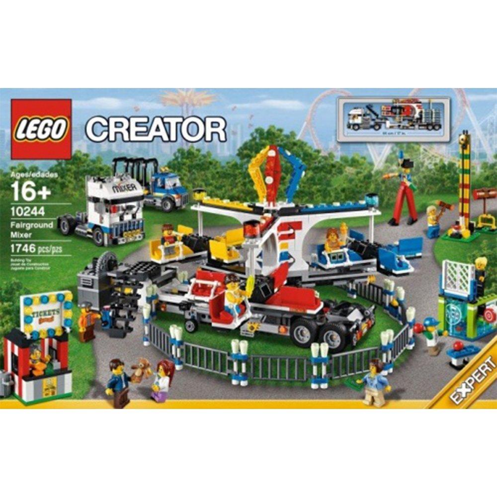 LEGO 樂高積木Creator 系列 10244 Fairground Mixer 露天遊樂場