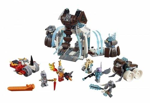 LEGO 樂高積木 Chima 70226 猛獁的冰凍要塞