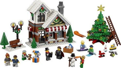 LEGO 樂高積木 Creator 系列 10249 冬季玩具店 Winter Toy Shop