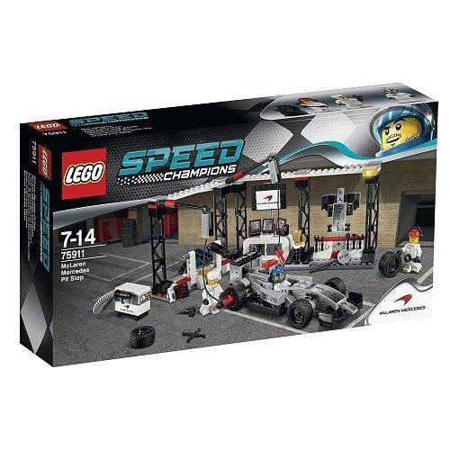 LEGO 樂高積木 Speed Champions 系列 75911 McLaren Mercedes Pit St