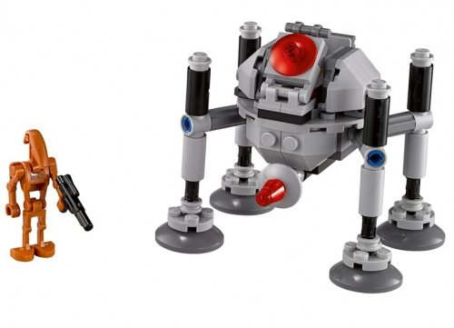 LEGO樂高積木Star Wars TM 75077 巡導蜘蛛機器人Homing Spider Droid™