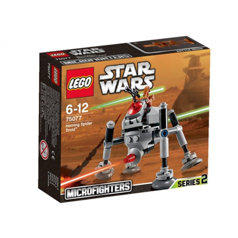 LEGO樂高積木Star Wars TM 75077 巡導蜘蛛機器人Homing Spider Droid™