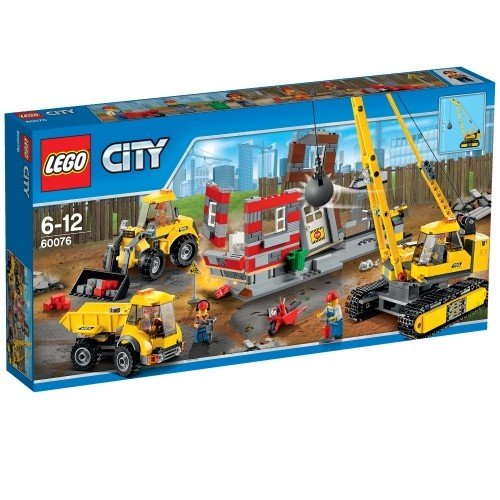 LEGO 樂高積木 City Demolition 60076 爆破現場