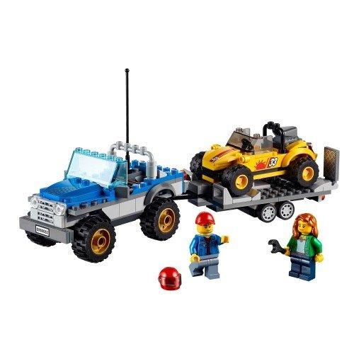 樂高積木 LEGO Great Vehicles 60082 沙灘吉普小拖車 Dune Buggy Trailer