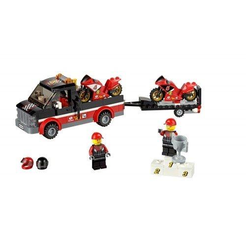 樂高積木 LEGO Great Vehicles 60084 競賽自行車運輸車