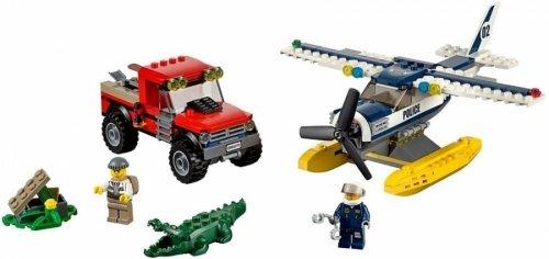 LEGO 樂高積木 City Police 60070 水上飛機追擊