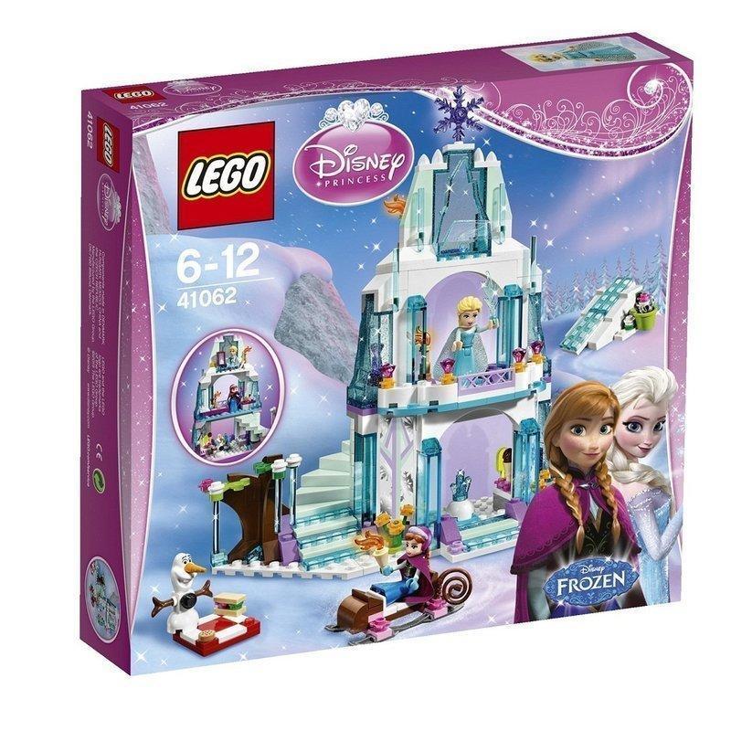 LEGO 樂高積木 41062 愛莎的閃亮冰雪城堡