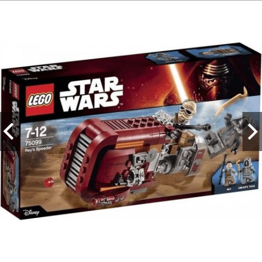 樂高積木LEGO 星際大戰 Star Wars 75099 Reys Speeder