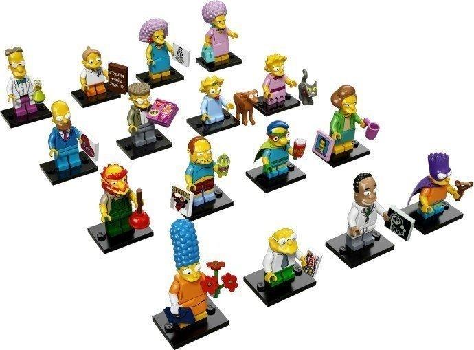 LEGO 71009 辛普森家庭 人偶包 Simpsons Series 2 〔全新拆袋檢查〕一套16入
