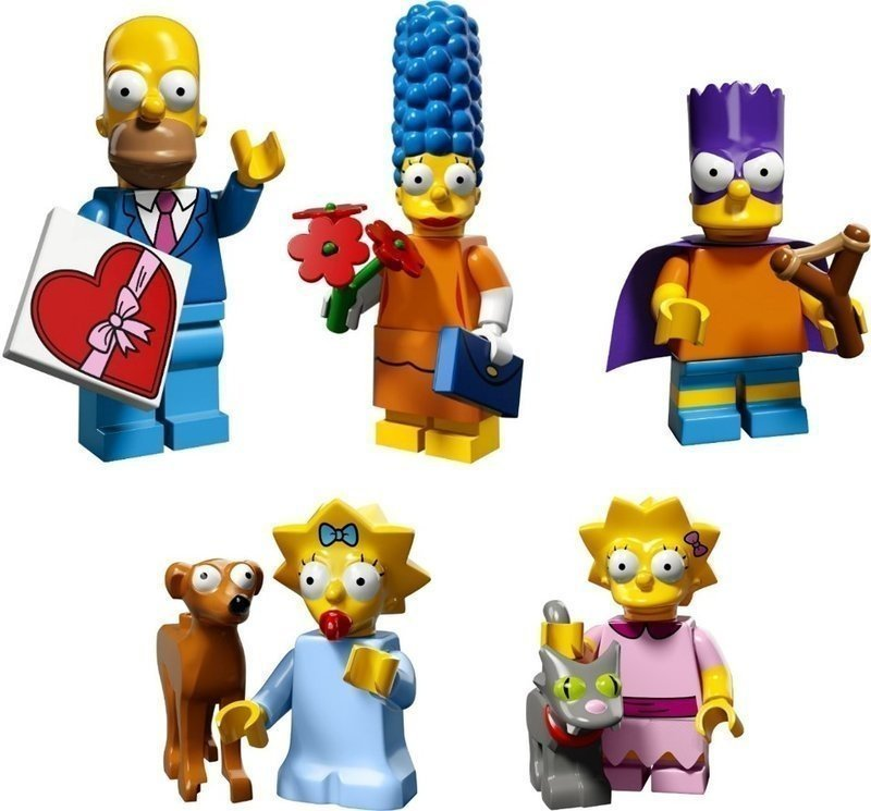 LEGO 71009 辛普森家庭 人偶包 Simpsons Series 2 〔全新拆袋檢查〕