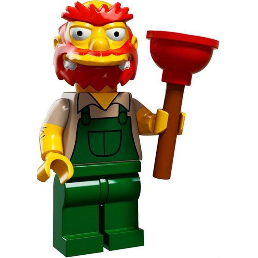 LEGO 71009 辛普森家庭 人偶包單售13號 鬍鬚張校管 Groundskeeper Willie
