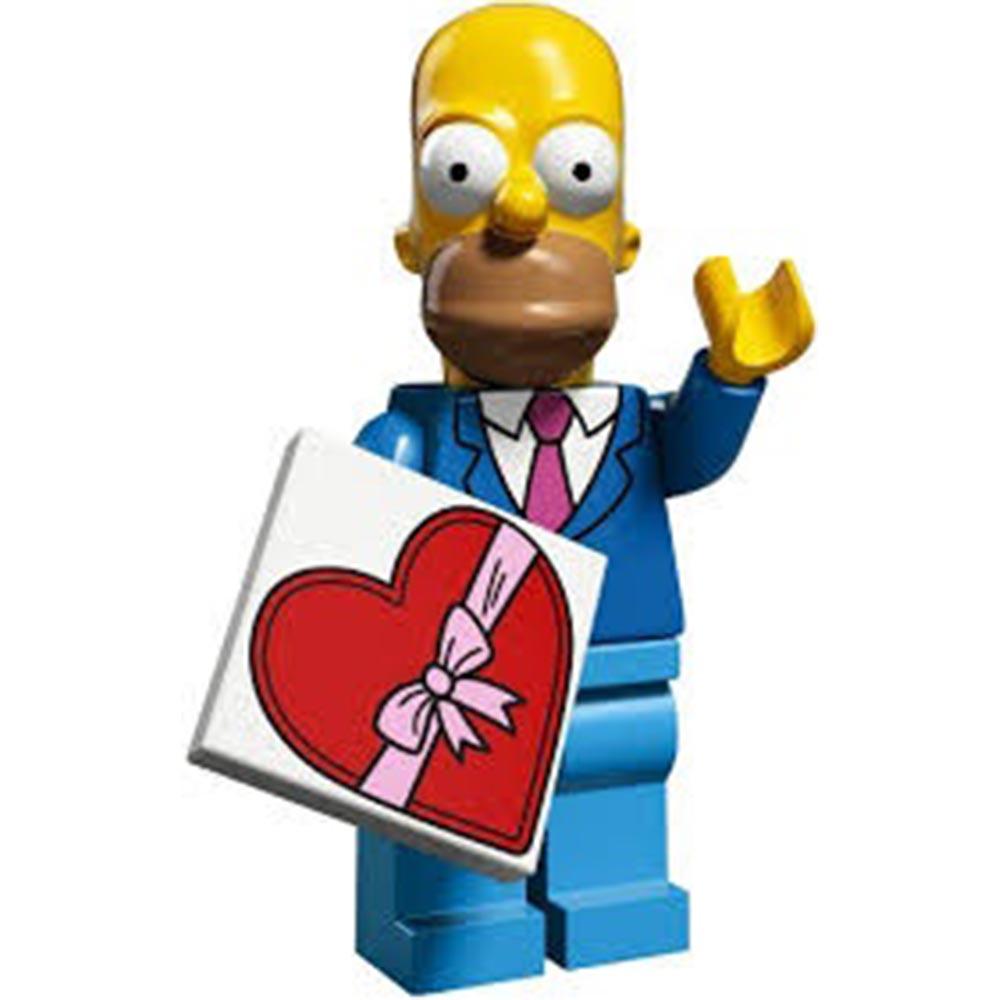 LEGO 71009 辛普森家庭 人偶包單售1號 Homer (Sunday Best)荷馬