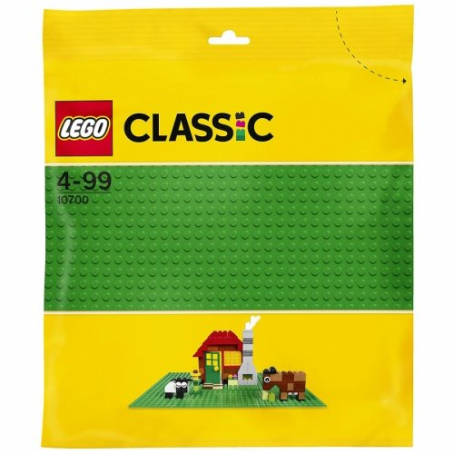 LEGO樂高積木LEGO Classic 10700 綠色底板
