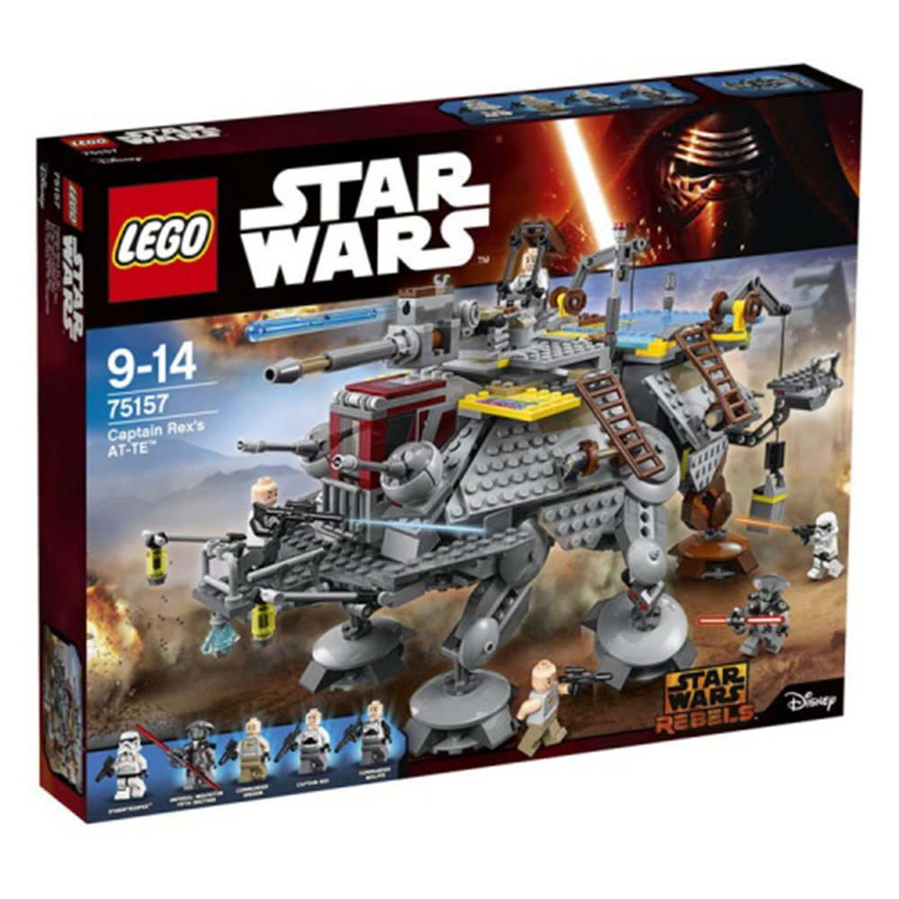樂高積木LEGO 星際大戰 Star Wars 75157 Captain Rex's AT-TE