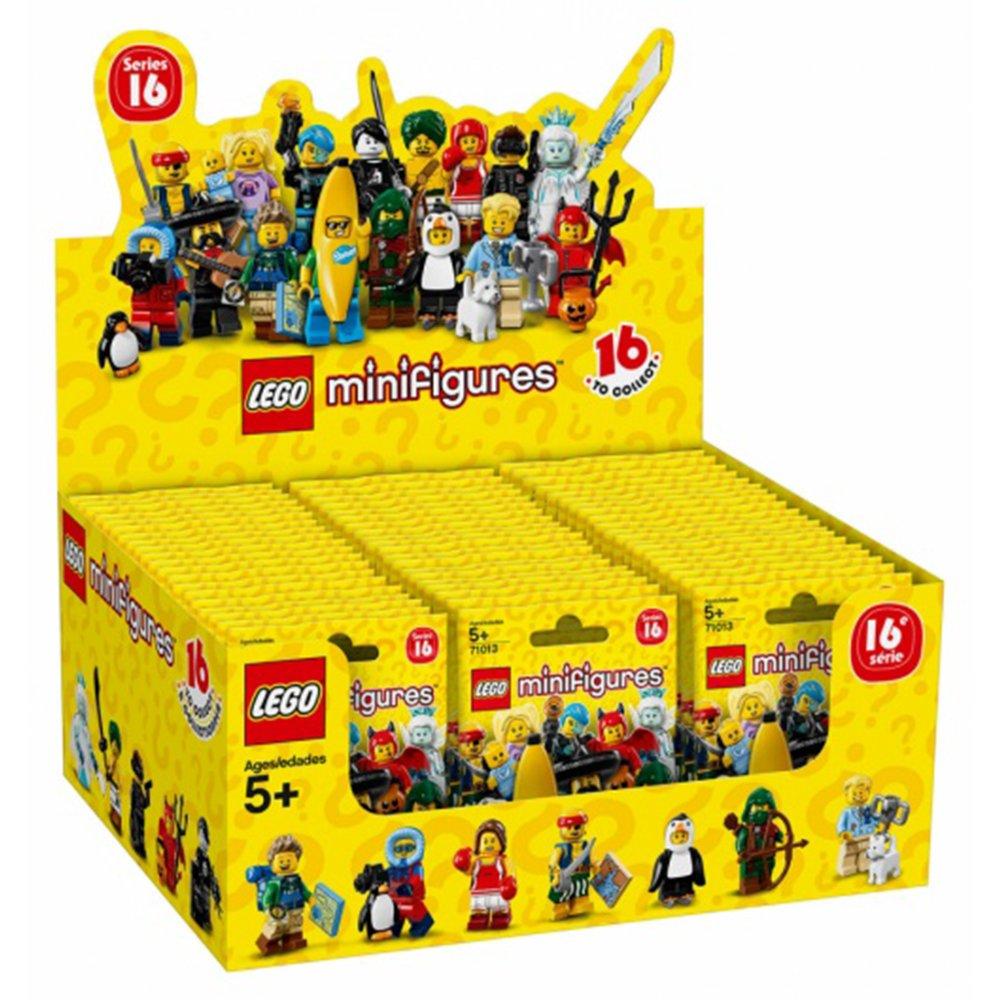 樂高積木 LEGO Minifigures 人偶抽抽樂 71013 第16代
