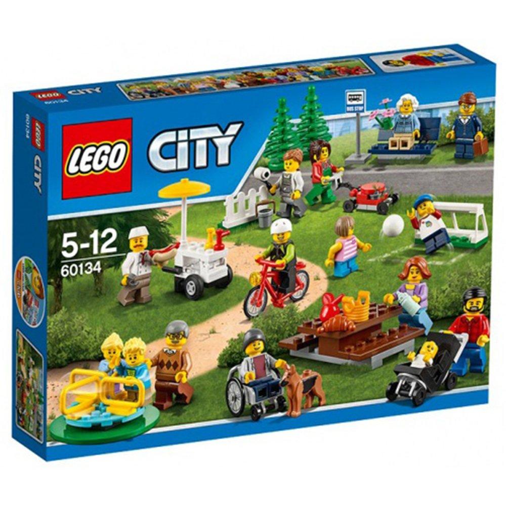 樂高積木LEGO City系列 60134 歡樂遊園—城市系列人偶套組