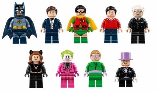 LEGO 樂高積木Super Heroes系列 76052 TV版蝙蝠洞